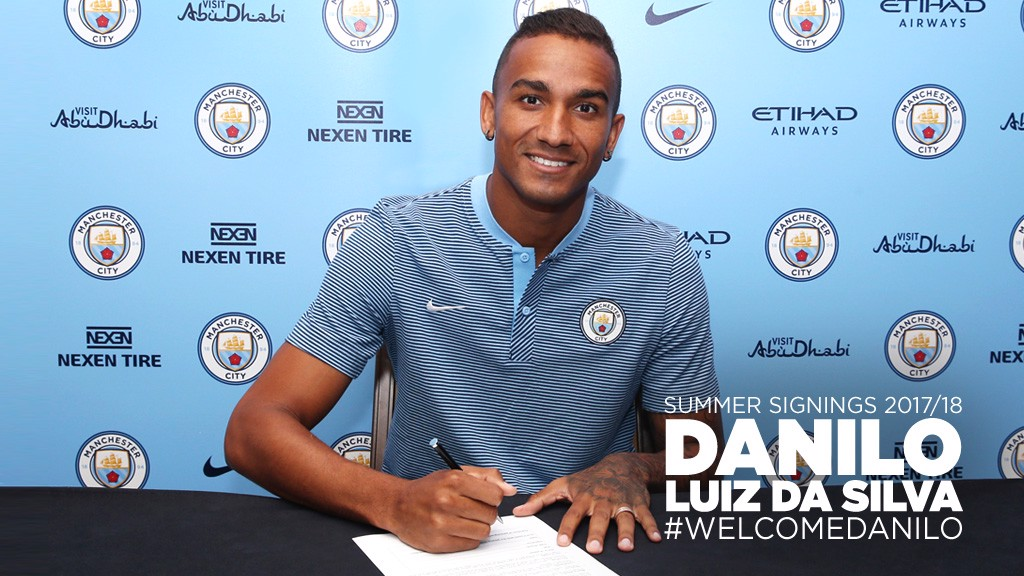 SIGNING UP: Danilo