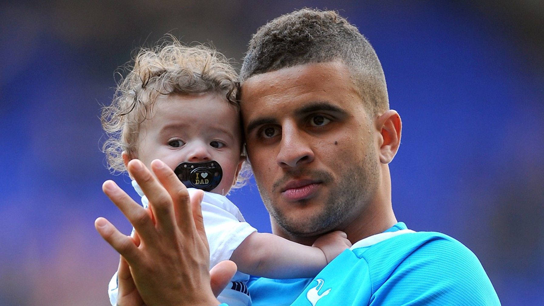 Picture of Kyle Walker Son, called Roman