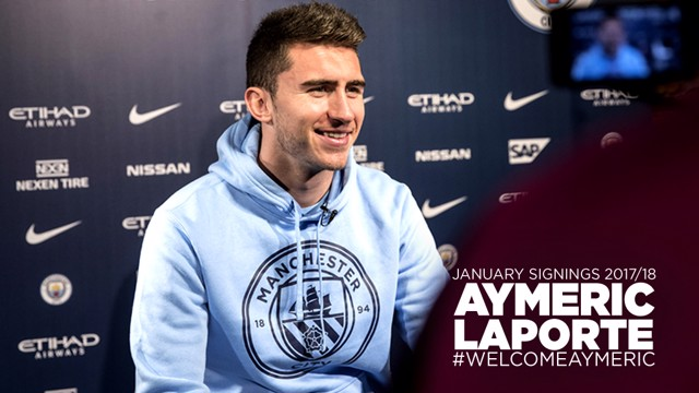 ON CAMERA: Aymeric Laporte sits down for his first CityTV interview.