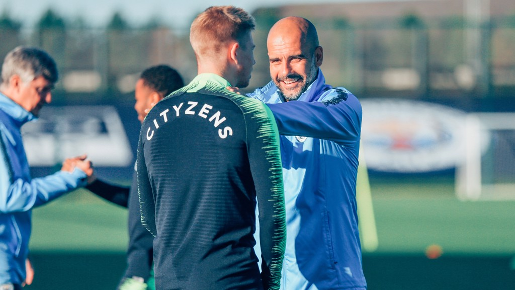 PEP AND KDB: What a duo!
