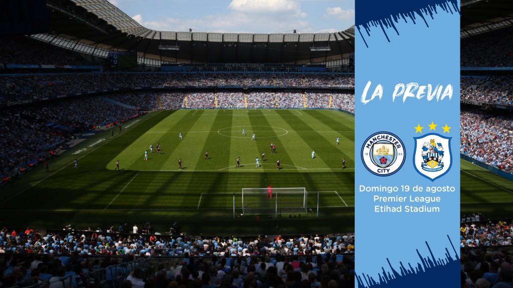 La previa del Manchester City - Huddersfield Town.