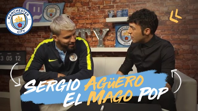 Sergio Aguero Mago Pop