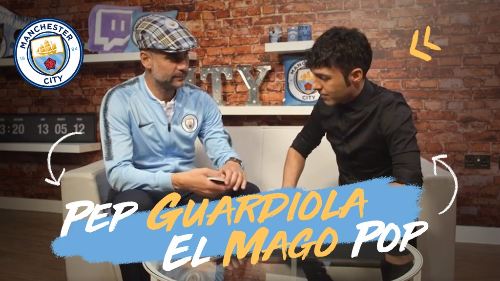 Pep Guardiola Mago Pop