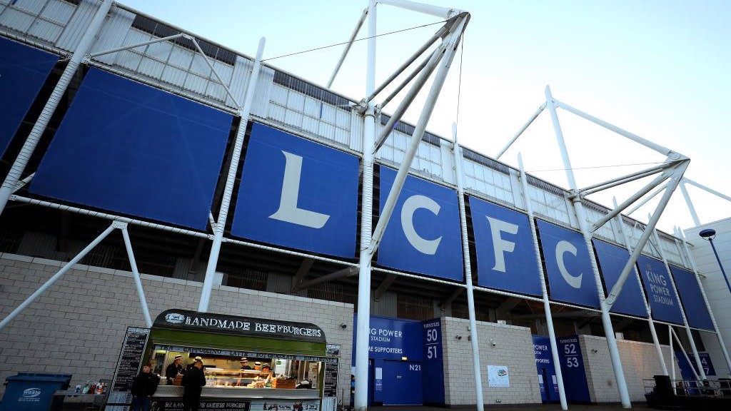 El King Power Stadium, hogar del Leicester City.