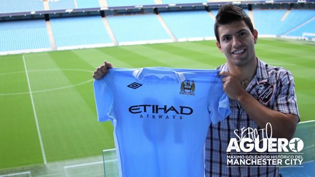 El día en que Sergio firmó por el City