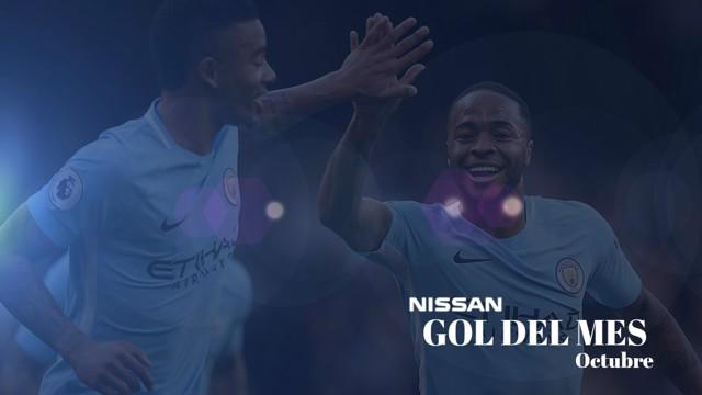Gol Nissan del mes: octubre
