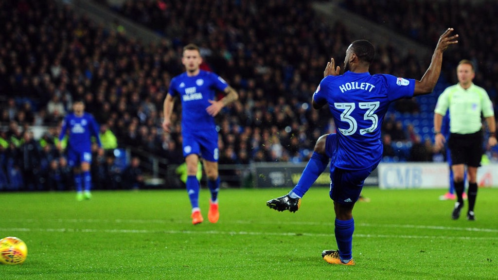 Junior Hoilett Cardiff City