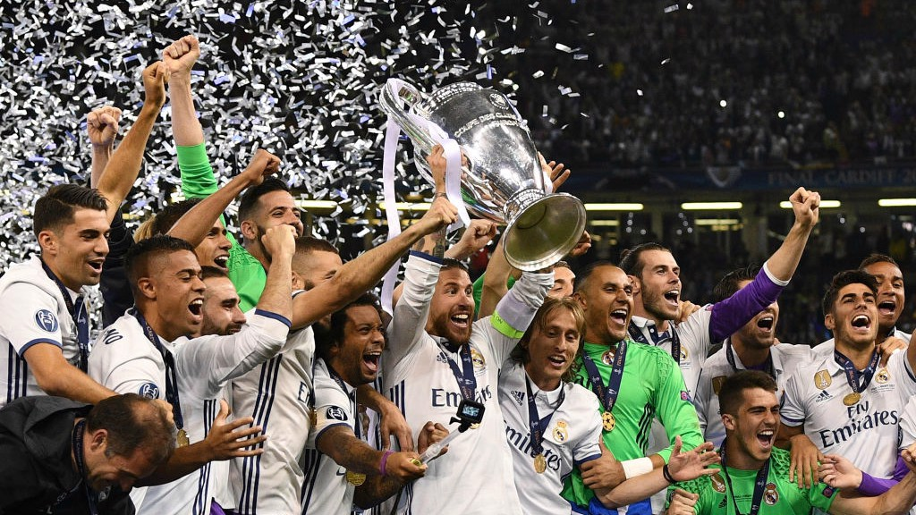 El Real Madrid ganó la Liga de Campeones por segundo año consecutivo.