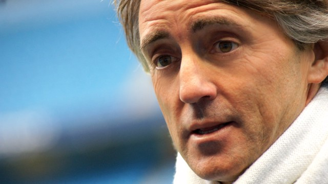 Mancini close up