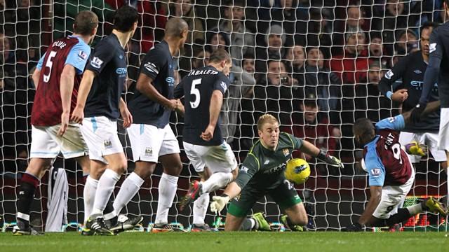 Joe Hart Save Villa
