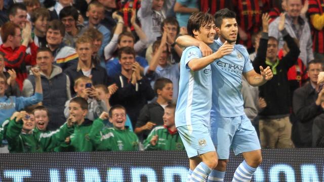 Aguero and Silva