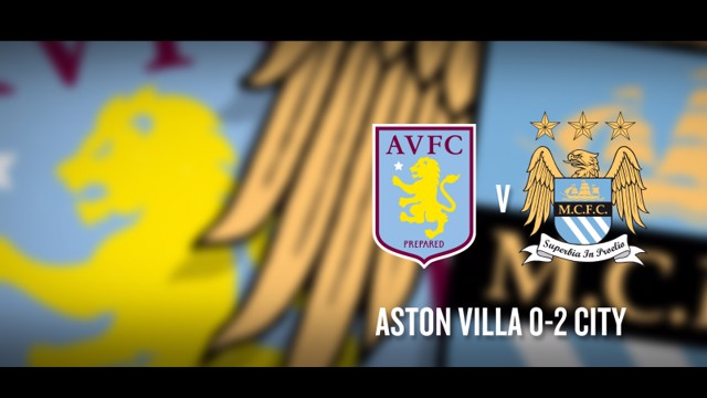 City Beats Villa v City