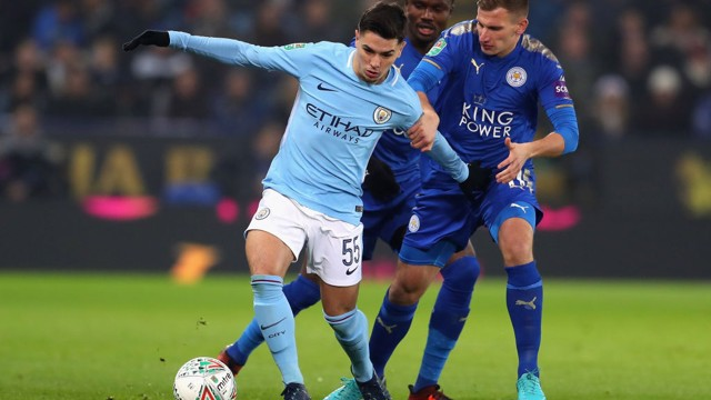 ​DEBUTANT: Brahim Diaz makes a bright start to his full City debut.