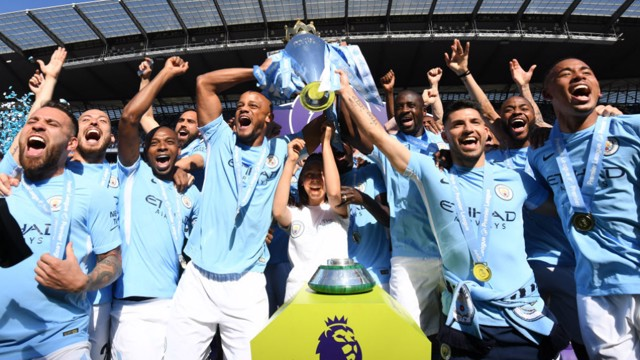 PREMIER LEAGUE DREAMS: Champions 2017/18!