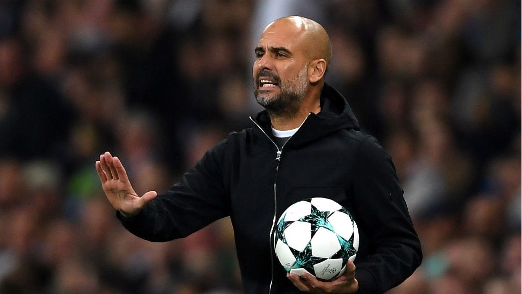 CALL TO ARMS: Pep Guardiola urges City on