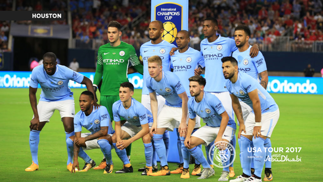 A CITY UNITED: The team poses for a photo