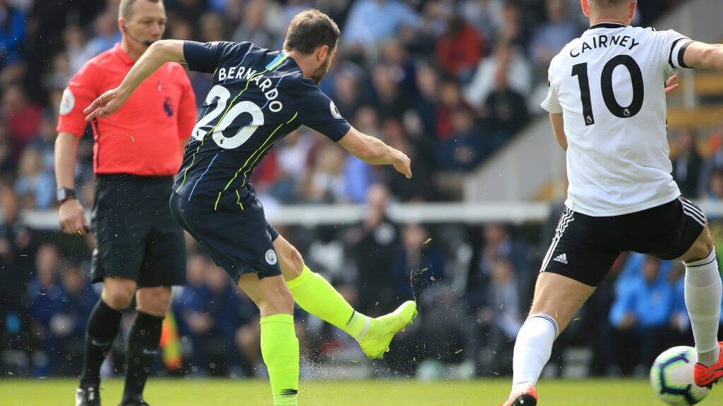 SILVA SPRINGS: Bernardo fires City into the lead