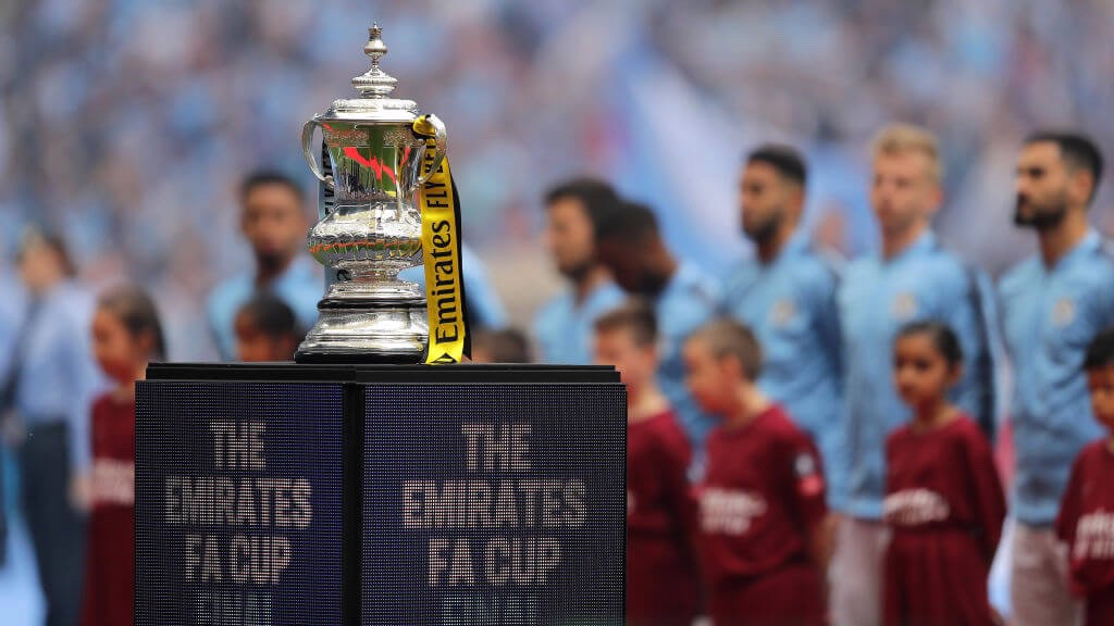 EYES ON THE PRIZE: The FA Cup!