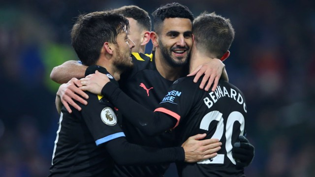 El Manchester City venció al Burnley contundentemente.