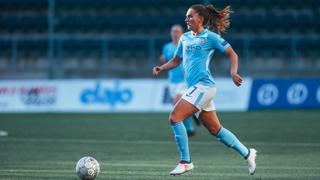 STAR: Mel Lawley created three assists in City's thrilling 5-3 victory over Linkoping...