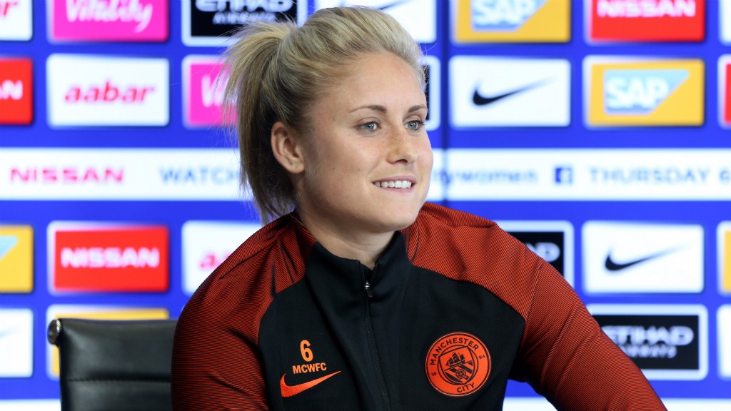 CAPTAIN'S NOTES: Steph Houghton shares her thoughts on Man City Women's Champions League debut