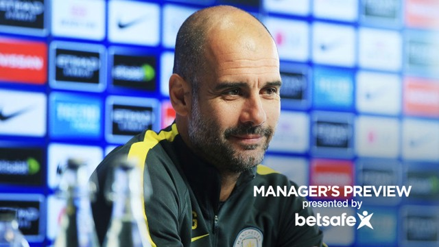 TIGHT AT THE TOP: Pep expects the race for a place in next season's Champions League to go right to the last day of the season