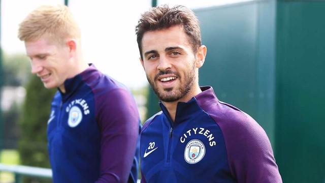 DEBUT DELIGHT: For City's Bernardo Silva