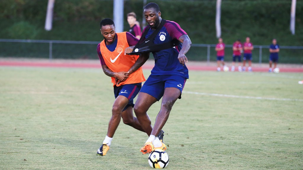 PERFECT PREPARATION: Yaya says West Ham provided the ideal test for City ahead of next week's Premier League opener at Brighton