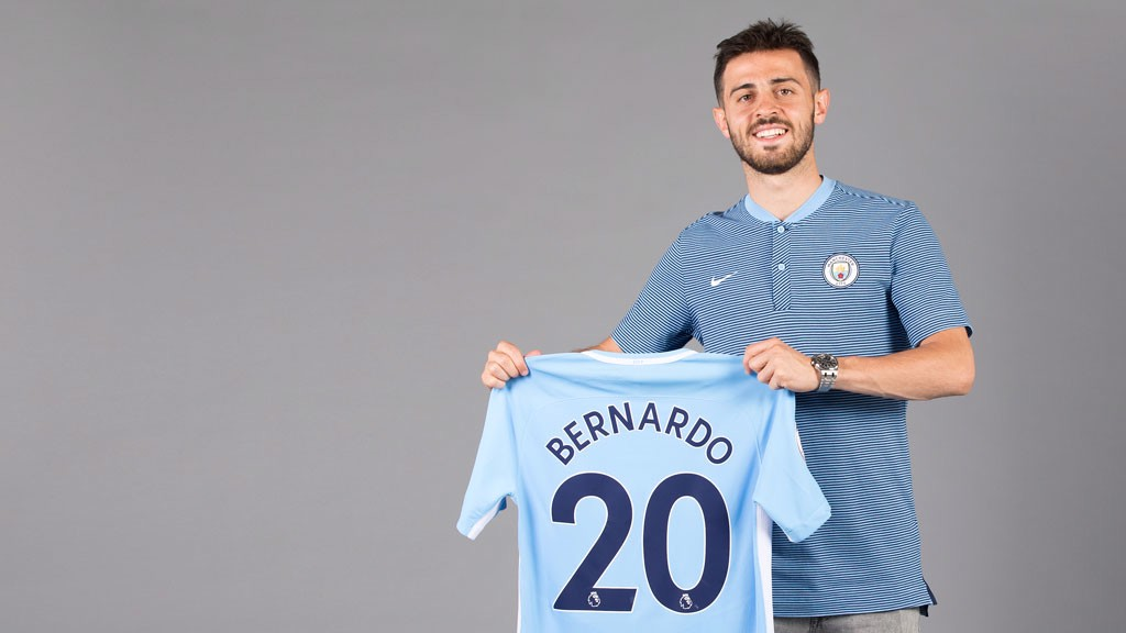 SILVA LINING: Bernardo has agreed to join City on July 1