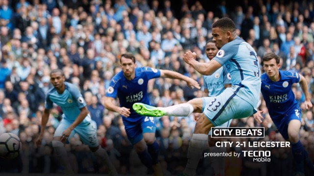 CITY BEATS: Watch City's 2-1 victory over The Foxes set to music !
