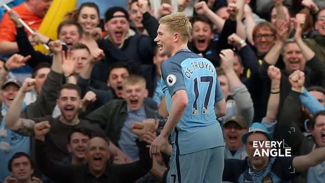 EVERY ANGLE: Kevin De Bruyne v West Bromwich Albion