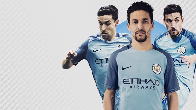 THANK YOU: Jesus Navas will leave the Club after four years.