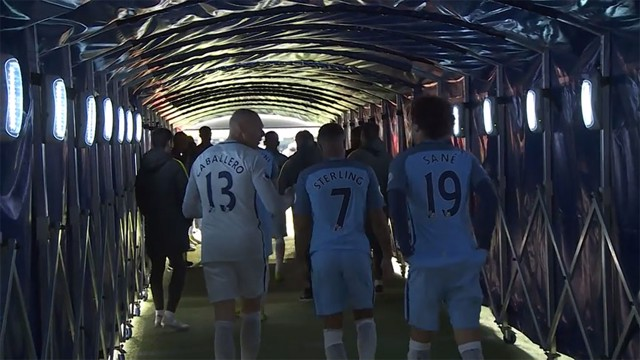 TUNNEL CAM: Check out what went on behind-the-scenes before, during and after the 5-0 win against Crystal Palace!