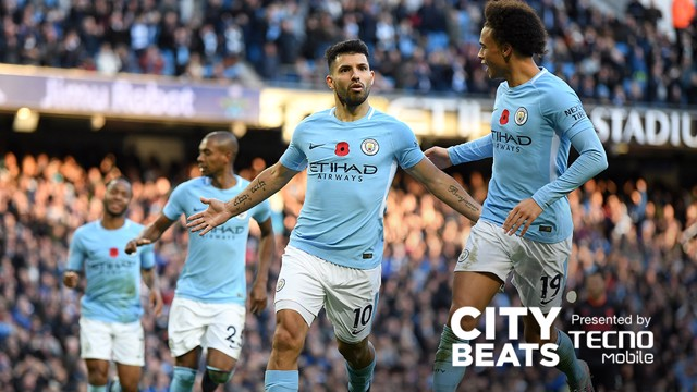 FIREWORKS: City secured a 3-1 win over visitors Arsenal on November 5.