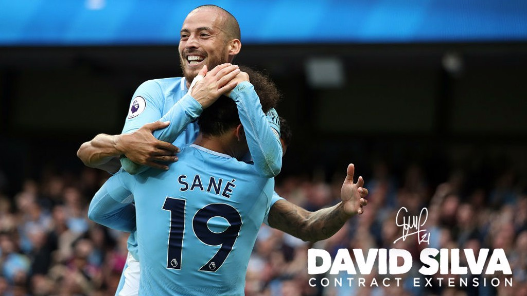 David Silva, una leyenda del City.