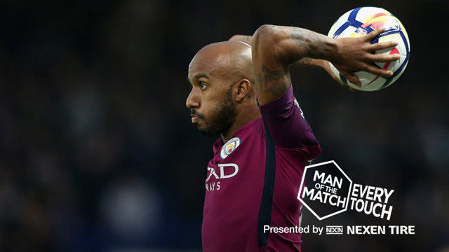 EVERY TOUCH: Delph v Chelsea