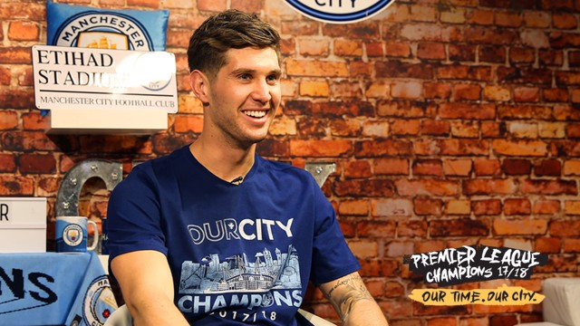 CHAMPIONS: John Stones reflects on winning the Premier League title for the first time