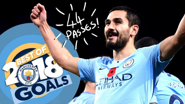 BEST OF 2018: Goals with Ilkay Gundogan!