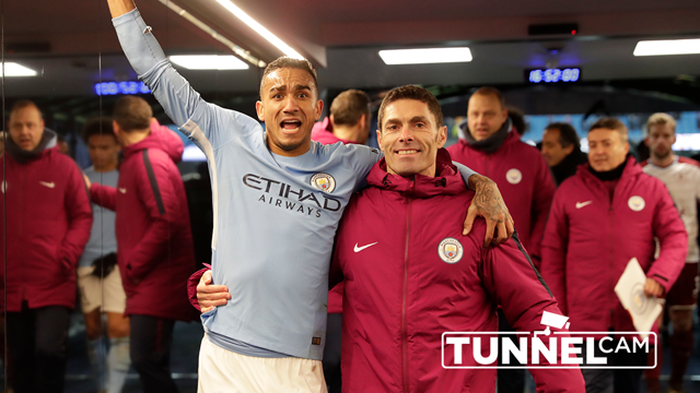 Desde el túnel: City - Burnley.