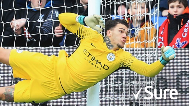 Revelation: Ederson played a key role in our Premier League triumph.