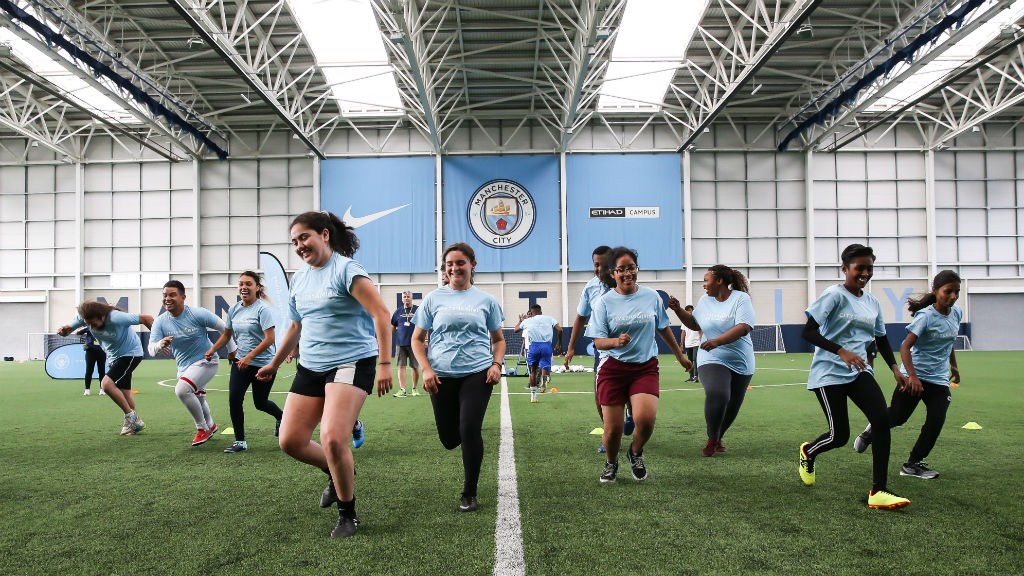 ALL TOGETHER NOW: Young Leaders from 18 cities around the world came to Manchester for the annual Cityzens Giving Young Leaders Summit