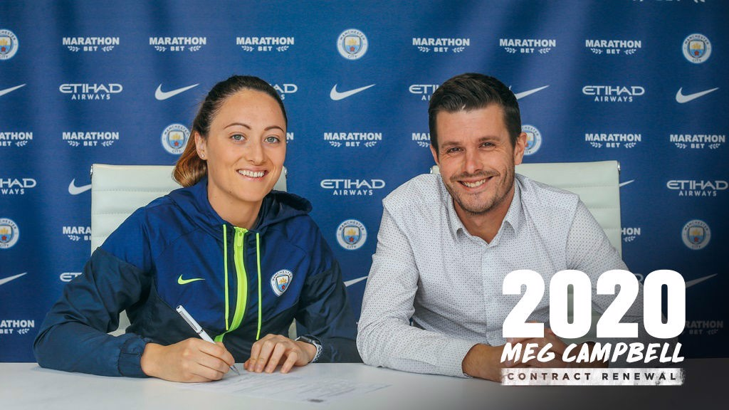 MEGAN CAMPBELL. En el City hasta 2020.
